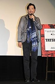 舞台挨拶に立った別所哲也「TATSUMI マンガに革命を起こした男」
