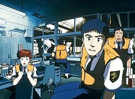 「機動警察パトレイバー THE MOVIE」ビジュアル「ミニパト」