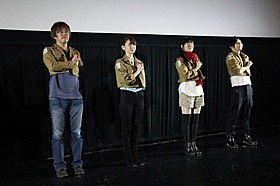4DX上映イベントにキャストが結集