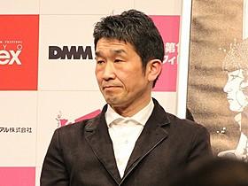 Q&Aに登壇した篠崎誠監督「SHARING」