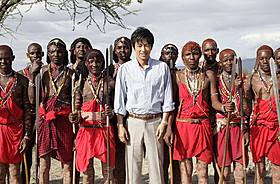 マサイ族との撮影に臨んだ主演・大沢たかお「風に立つライオン」
