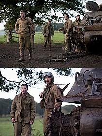 固い絆で結ばれた5人だが、 ドイツ大軍を目前にして意見が分かれる「フューリー」