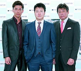 (左から)大東駿介、遠藤要、赤井英和「表と裏」