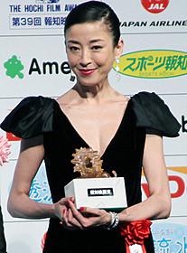 報知映画賞主演女優賞に輝いた宮沢りえ「0.5ミリ」