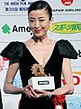 宮沢りえ、報知映画賞主演女優賞で早くも3冠「感動と同時に己をムチ打ちたい」