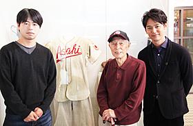 バンクーバー滞在時にケイ上西功一さん(中央)と 語り合った妻夫木聡と石井裕也監督「バンクーバーの朝日」