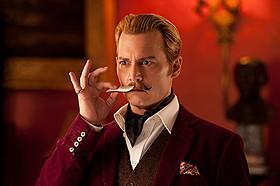 ジョニー・デップが怪しい美術商に扮する 「チャーリー・モルデカイ 華麗なる名画の秘密」「チャーリー・モルデカイ 華麗なる名画の秘密」