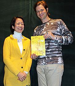 酒井充子監督とセイン・カミュ「ふたつの祖国、ひとつの愛 イ・ジュンソプの妻」