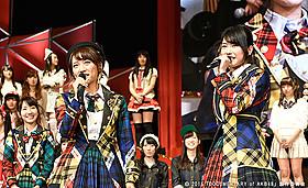 高橋みなみ(左)の卒業にも密着する 「DOCUMENTARY of AKB48」第5弾が2016年公開
