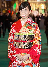 2015年も女優道を突き進む前田敦子 (写真は昨年の「ホビット 決戦のゆくえ」 ワールドプレミア時に撮影されたもの)「イニシエーション・ラブ」