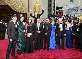 カンバーバッチもアカデミー賞授賞式でフォトボム「いいね!」