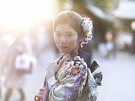 成人式を迎えた松岡茉優「リトル・フォレスト 冬・春」