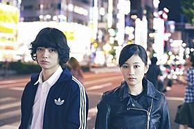 本作で初共演を果たした染谷将太と前田敦子「さよなら歌舞伎町」