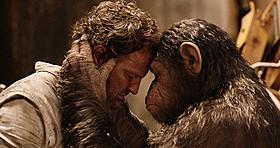 「猿の惑星:新世紀(ライジング)」の一場面「猿の惑星:新世紀(ライジング)」