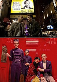 「バードマン」と 「グランド・ブダペスト・ホテル」の場面写真「グランド・ブダペスト・ホテル」