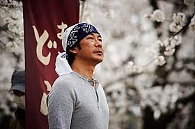 映画「あん」で樹木希林と共演する永瀬正敏「あん」