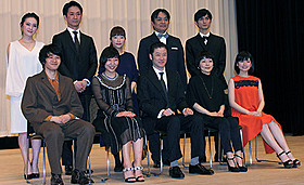 2014年の日本映画界の顔がズラリ「紙の月」