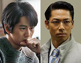 「アンフェア the end」に出演する 永山絢斗(左)と「EXILE」のAKIRA「アンフェア the end」