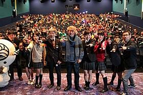 「幕が上がる」舞台挨拶にももクロメンバーも参加「幕が上がる」