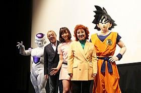 シリーズ人気キャラのフリーザが復活!「DRAGON BALL Z 神と神」