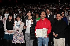 逢坂良太&洲崎綾を場内全員が祝福「劇場版 シドニアの騎士」