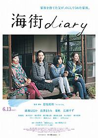 初公開となった「海街diary」本ポスタービジュアル「海街diary」