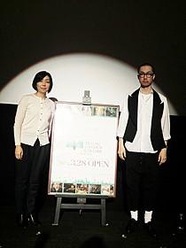 エドツワキ氏と浜田敬子氏「パンチドランク・ラブ」