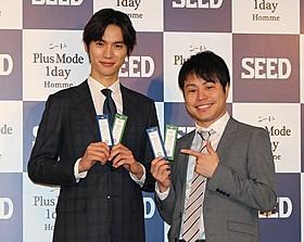 「NON STYLE」井上裕介(右)の挑発を一蹴した福士蒼汰