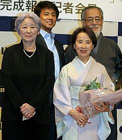 岡本喜八夫人が監督に初挑戦「ゆずり葉の頃」