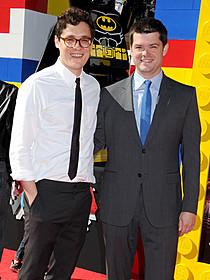 フィル・ロード(右)とクリストファー・ミラー「LEGO(R) ムービー」