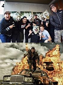 (上)エンディング曲を手がけた MAN WITH A MISSIONとZebrahead「マッドマックス 怒りのデス・ロード」