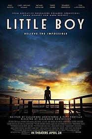 「LITTLE BOY(原題)」ポスター「ワイルド・スピード SKY MISSION」