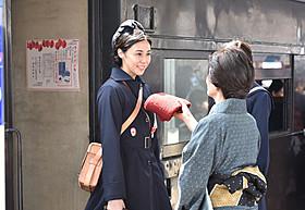 激動の時代を生きた主人公を演じる松嶋菜々子