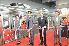 松田翔太はテープカットイベント初体験「イニシエーション・ラブ」