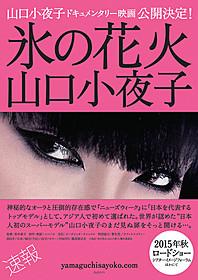 伝説の日本人モデル山口小夜子に迫る「氷の花火 山口小夜子」