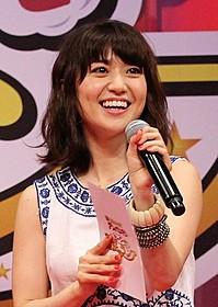 ダンスと歌を披露した大島優子「それいけ!アンパンマン ミージャと魔法のランプ」