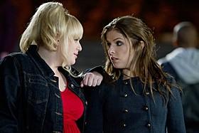 第1作「ピッチ・パーフェクト」から出演している アナ・ケンドリック(右)&レベル・ウィルソン「ピッチ・パーフェクト」