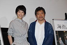 ティーチインに臨んだ是枝裕和監督と夏帆「海街diary」