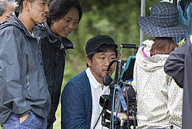 「海街diary」撮影現場での是枝裕和監督「海街diary」