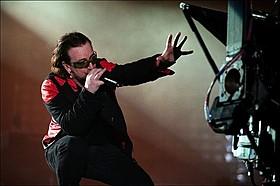 「U2 3D」の一場面「エアロスミス ロックス・ドニントン2014」