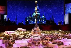 上海ディズニーランドの完成予想ミニチュア「スター・ウォーズ」