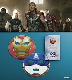 新作フェイスパックには「進撃の巨人」コラボバージョンも!「アベンジャーズ」