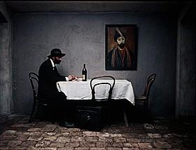 「放浪の画家ピロスマニ」の一場面「放浪の画家ピロスマニ」
