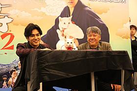 北村は今作では、主演・原案・脚本を担当「猫侍」