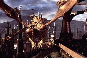 「ダンジョン&ドラゴン」(2001)の一場面「タイタンの逆襲」