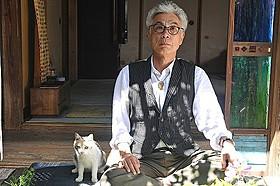 天才猫ドロップ、イッセー尾形主演作「先生と迷い猫」で銀幕デビュー「先生と迷い猫」