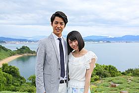 短編「漁船の光」で共演した横山由依と大野拓朗「9つの窓」