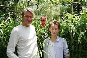 ヤン・スベラーク監督と息子オンジェイ「クーキー」