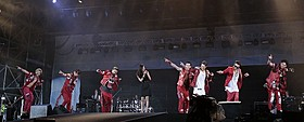 篠原涼子がa-nationにサプライズ登場!「アンフェア the end」