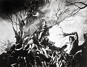ヘンリー・オットー監督による「インフェルノ」(1924)「神曲」